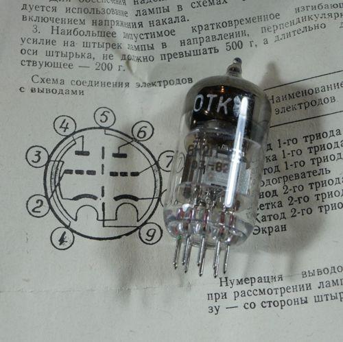 Russian military ECC83 equivalent