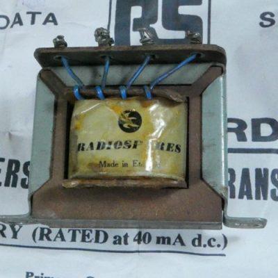 Radiospares transformer
